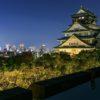 ミライザ大阪城の屋上からの夜景