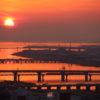 梅田スカイビル・天空美術館は夕日とアートを鑑賞できる穴場スポット