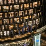阪神梅田本店の夜景はスケスケが素敵
